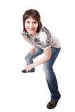 uśmiechnięty nastolatek Fotografia Royalty Free