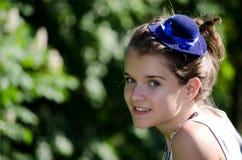 uśmiechnięty nastolatek Zdjęcie Stock