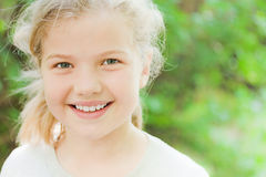 uśmiechnięty nastolatek Obraz Royalty Free