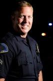 Uśmiechnięty oficer Fotografia Royalty Free