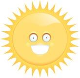 uśmiechnięty słońce Zdjęcia Stock