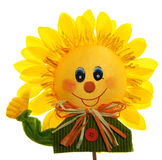 uśmiechnięty słonecznik Zdjęcia Royalty Free