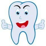 Uśmiechnięty ząb Obrazy Royalty Free