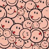 uśmiechnij się bezszwowy Fotografia Stock