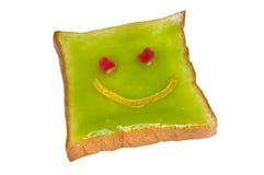 Uśmiechu chleb Obrazy Royalty Free