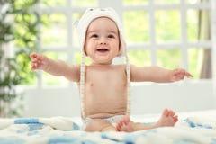 Uśmiechu dziecko zdjęcia royalty free