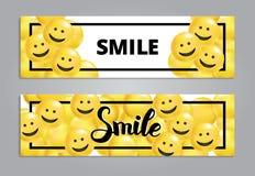 Uśmiechu kolor żółty szybko się zwiększać tło ilustracja wektor