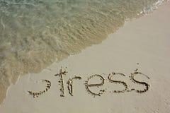 Uśmierzać stres zdjęcia royalty free