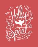 Uświęcony duch ilustracja wektor