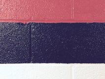 Żużlu bloku ściany szczegół Fotografia Stock