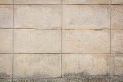 Żużlu bloku ściany tło, Zdjęcia Stock