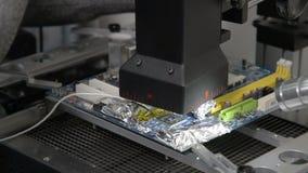 Użycie nowożytna Infrared lutowanie staci naprawiania płyta główna zdjęcie wideo