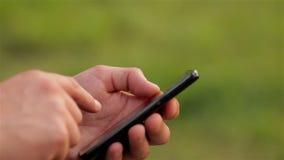 Użycie telefon komórkowy zbiory wideo