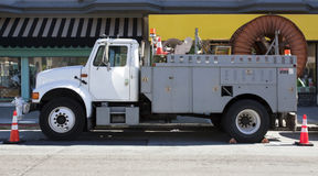 Użyteczności ciężarówka obrazy royalty free