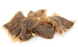Używać Herbaciane torby Obrazy Stock