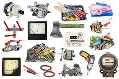 Używać ogródu i domu narzędzia Obraz Stock