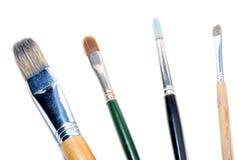Używać Paintbrushes Zdjęcie Royalty Free