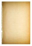 Używać papierowa strony tekstura Rocznika kartonu winieta Zdjęcia Royalty Free