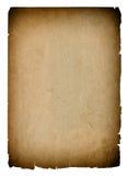 Używać papierowa strony tekstura z ciemnymi krawędziami ornamentu geometryczne tła księgi stary rocznik Obraz Stock