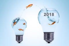 Używać więcej twórczość sukces w 2018 Obrazy Stock