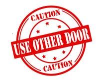 Używa innego drzwi royalty ilustracja