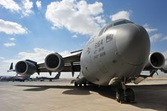 u δύναμης s Boeing γ αέρα 17 Στοκ εικόνες με δικαίωμα ελεύθερης χρήσης