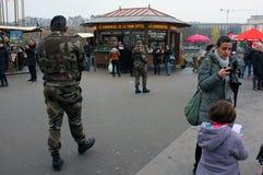u στρατιωτών περιπόλου s Στοκ Εικόνες