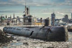 U-шлюпка Гамбург стоковые изображения