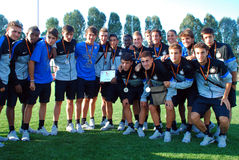 U-17 Inter Milan team Stock Photo
