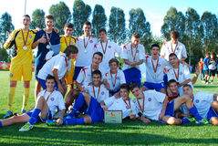 U-17 team Hajduk Stock Foto