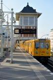 U-bahn地铁站,柏林 免版税库存照片