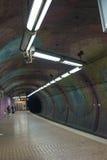 U-Bahn驻地在埃森 免版税库存照片
