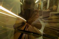 U-Bahn-Bahn Lizenzfreie Stockfotografie