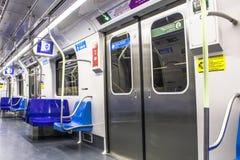 U-Bahn in der Stadt von Sao-Paulo lizenzfreie stockfotografie