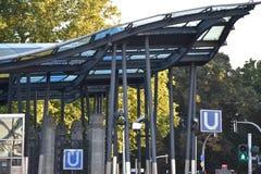 U-Bahn em Hamburgo, Alemanha Fotografia de Stock
