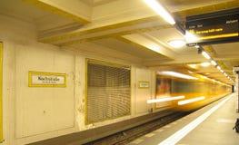 U-Bahn em Kochstrasse Imagens de Stock Royalty Free