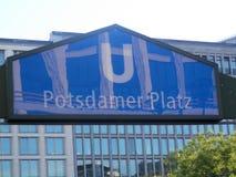U-bahn entrance Stock Image