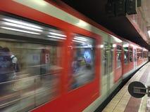 U-Bahn in Hamburg, Germany Royalty Free Stock Image