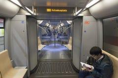 U Bahn in München Stockbilder