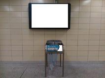 U-Bahn-Monitor Lizenzfreie Stockbilder