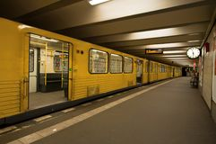 U-Bahn station Royaltyfria Foton