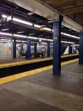 U-Bahn still und leer Stockfotos
