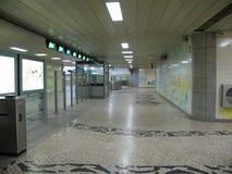U-Bahn von Lissabon, Portugal Lizenzfreies Stockbild