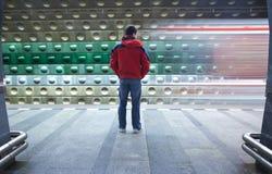 U-Bahnstation Lizenzfreies Stockfoto