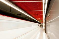 U-Bahnstation. stockfoto