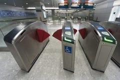 U-Bahnstation Stockfoto