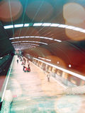 U-Bahnstation in Bukarest Lizenzfreies Stockbild