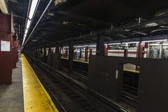 U-Bahnstation in New York City, USA lizenzfreie stockfotografie