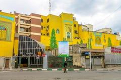 U-Bahnstation Teherans Mellat lizenzfreie stockfotografie