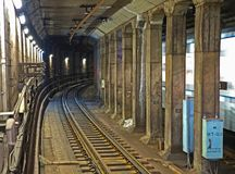 U-Bahnstations-Untergrund Tokyos Japan lizenzfreies stockfoto